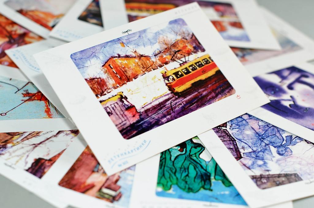 Печать на открытках в туле